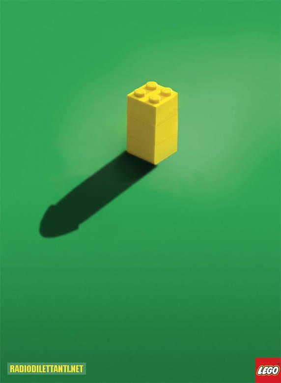 little imagination goes a long way.: radiodilettanti.net/lego-poster